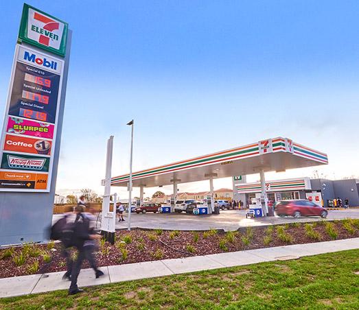 Sebastopol, Victoria – 7 Eleven Petrol Station